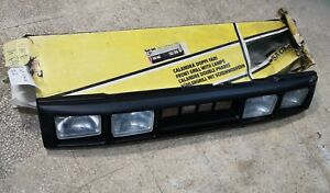 Panel Front Sacex Grill Radiator Grille 4 Lights Fiat One New
