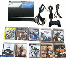 PS3 Bundle - PS3 Console 40gb + 1 Controller + 10 Games + Charger + Cables