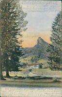 Ansichtskarte Dorf Kreuth um 1910