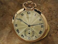 Rolex 1528 Vintage 1940s 44mm Rolled Gold Luxurious Pocket Watch LV105