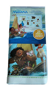 Disney Moana Vinyl Wall Decals 25 Removable Decals