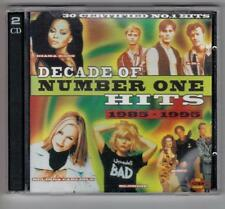 Decade Of Number One Hits 1985-1995, Various - CD Album, 1997