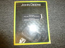 John Deere 1420 1435 1445 1545 1565 Ii 2 Mower Owner Operator Manual Omtcu24076