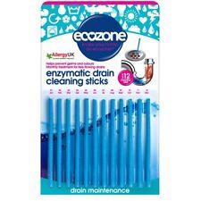 Écozone enzymatique Drain Bâtons aide à prévenir les blocages formant 12 Stick Pack