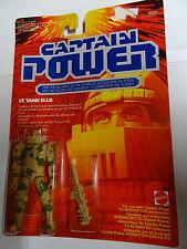 MATTEL - CAPTAIN POWER - LT. TANK ELLIS