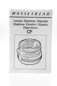 Hasselblad CF Lens Manual