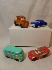 Lot of 4  Disney Cars McDonald's Happy Meal cars lot H