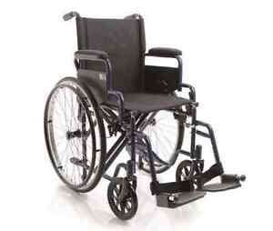 Carrozzina pieghevole - Sedia a rotelle ad autospinta trasformabile in transito