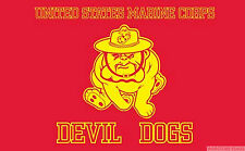 US MARINE CORPS DEVIL DOGS 5x3 feet FLAG 150cm x 90cm flags USA AMERICA AMERICAN
