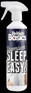 British Basics 500ml Sleep Easy Natural Calming Spray Bed Pillow Sleeping Aid