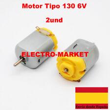 2 unidades  Micro Motor 3V - 6V DC Estándar de 130 motor de juguete Robotica