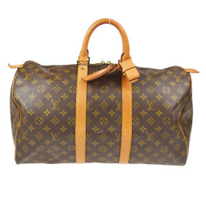 LOUIS VUITTON KEEPALL 45 TRAVEL HAND BAG PURSE MONOGRAM M41428 eh 61063