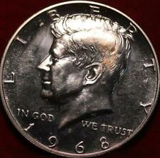 Uncirculated Proof 1968-S San Francisco Mint Silver Kennedy Half