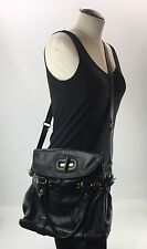 Hype Crossbody Satchel Bag Black Handbag