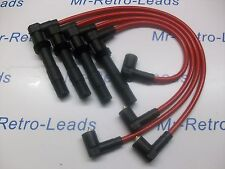 RED 8MM PERFORMANCE IGNITION LEADS WILL FIT VW GOLF BORA 1.6 1.4 16V QUALITY HT.