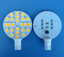 1pcs T10 921 DC 12V Warm White 24-5050 SMD LED Bulb lamp Super Bright New #Y