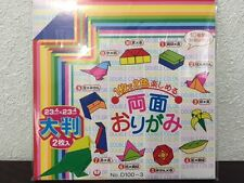 """Japanese Origami Folding Craft Paper Double Sided 10 Patterns/ 4.6""""  32 Sheets"""