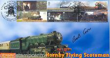 2004 sellos de trenes () - Scott oficial-firmado por el ex dirigente RMT Bob Crow