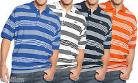 NWT Lacoste Big and Tall Shirt, Short Sleeve Stripe Pique Polo Shirt