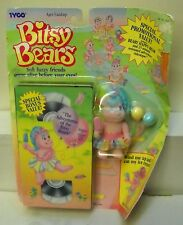 #7088 TYCO Bitsy Bears Beary Happy Bear & VHS Video