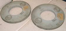 Lot de 2 meules plates Ø 350 x ép 25 mm - Neuves