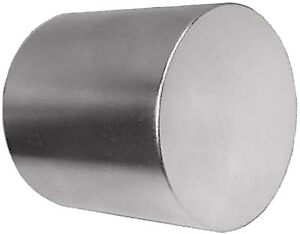 1 Neodymium Magnet 3 x 3 inch Cylinder N48 Rare Earth- PULL FORCE OVER 881 lbs!