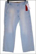 """NUEVO CON ETIQUETA Hombre Fcuk French Connection Jeans W34"""" L33"""" Hydro azul"""
