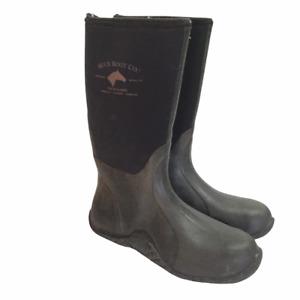Muck Boot Company Tack Classic Men 12 Women 13 Waterproof Boots Black Insulated