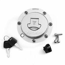 Fuel Cap Gas Tank Cover With Key For Honda CB250 CB500 CB600 1997 1998 VTR250 97