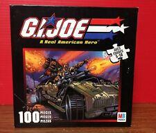 2002 GI Joe 100 Piece Jigsaw Puzzle By Milton Bradley 49260-1