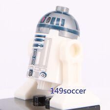 Star Wars R2D2 White Fit  Lego Mini Figure Super Hero minifigure
