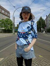 T-Shirt TOP stars and stripes Maritim Schulterpolster 90er TrueVINTAGE 90s shirt