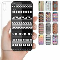 For OPPO Series - Navajo Pattern Tempered Glass Back Case Mobile Phone Cover #2