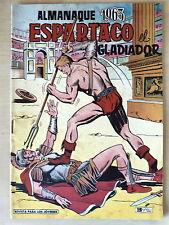 Espartaco el Gladiador Almanaque 1963,Valenciana (original)