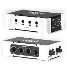 MXL MM-4000 Mini USB or Battery Powered 4 Channel Podcast Computer Audio Mixer