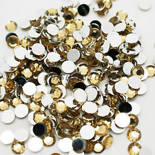 1000 Nail Art Rhinestone Crystal Bead Gem 1.5mm Acrylic Flat back Diamante