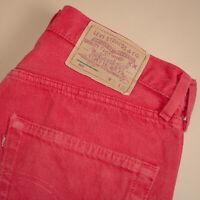 Levi 501 Jeans Blue Straight Button Fly Unisex Vintage (PatchW32L34) W 31 L 34