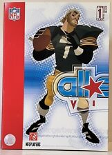 BEN ROETHLISBERGER 2007 UPPER DECK ALL STAR VINYL Pittsburgh Steelers BLACK HOME