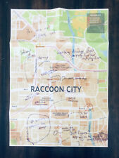 Biohazard Resident Evil 3 Collector's Edition Poster Racoon City Map