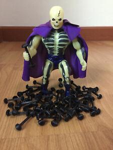 Action Figure Leg Links x 20 Repair Vintage 80's Toy Rubber Band Part Lot He Man