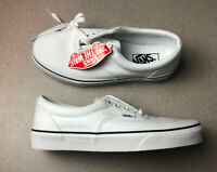 "Vans Authentic ""eyelets White"" Mens Size 7"