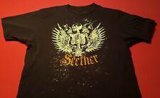 Seether Disclaimer II Album Cover Men/'s Black T-Shirt Size S M L XL XXL XXXL