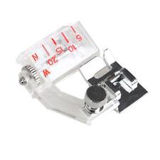 Adjustable Bias Sewing Machine Ruffle Presser Foot Tape Binding Binder 5mm-20mm