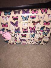 Anna Smith Beige Butterfly Satchel BNWT