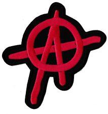 Ecusson patche Anarchie Anarchy anarchiste thermocollant patch revolution