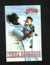 Round Rock Express--2004 Pocket Schedule--Budweiser