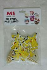 ♛ Shop8 : POKEMON Cupcake Topper Toothpick Flags Cake Decor 24 pcs