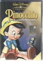 Walt Disney I Classici: PINOCCHIO OLOGRAMMA TONDO TRIANGOLO GIALLO - B05