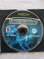 Need for Speed: Underground (Microsoft Xbox, 2003) Disc Only
