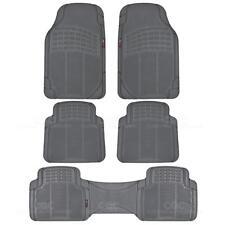 Eco-Tech MotorTrend Floor Mats Van Truck Gray All Weather Protection 5 Piece